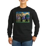 St Francis / Black G-Dane (N) Long Sleeve Dark T-S