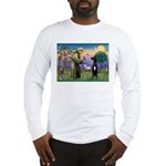 St Francis / Black G-Dane (N) Long Sleeve T-Shirt