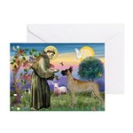 Saint Francis' Great Dane Greeting Cards (Package