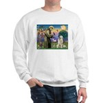 St. Francis & Great Pyrenees Sweatshirt