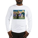 St. Francis & Great Pyrenees Long Sleeve T-Shirt