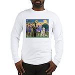 St. Francis & Great Pyrenees Long Sleeve T-Shirt