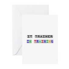 It Trainer In Training Greeting Cards (Pk of 10)