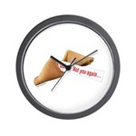 Funky Fortune 6 Wall Clock