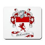 McCombie Family Crest Mousepad