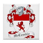 McCombie Family Crest Tile Coaster