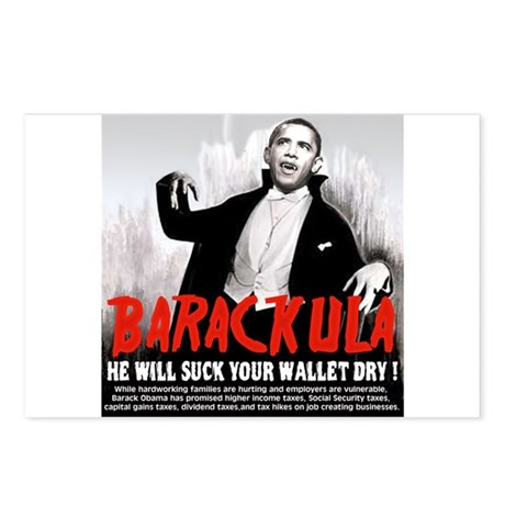 anti obama humor Postcards (Package of 8)