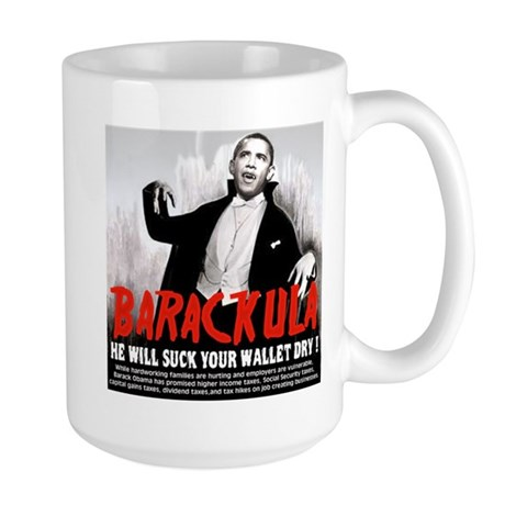 anti obama humor Large Mug