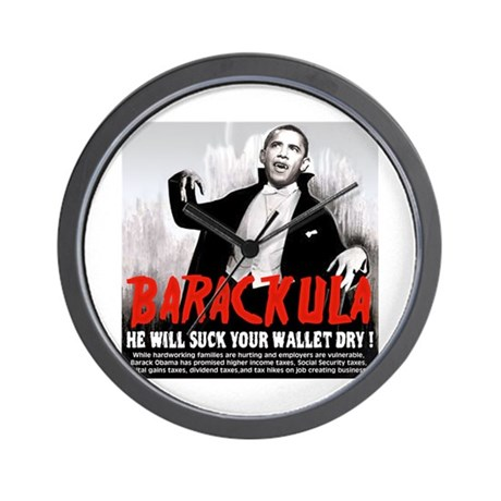 anti obama humor Wall Clock