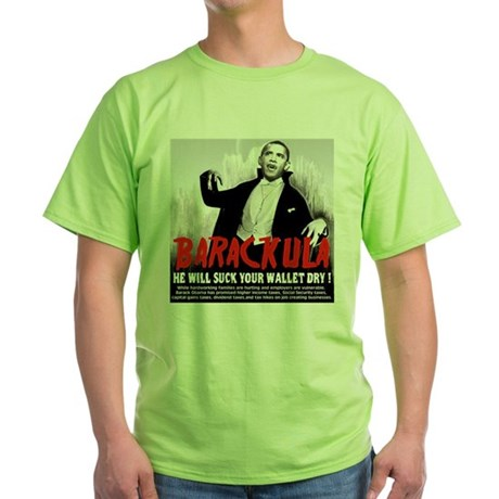 anti obama humor Green T-Shirt