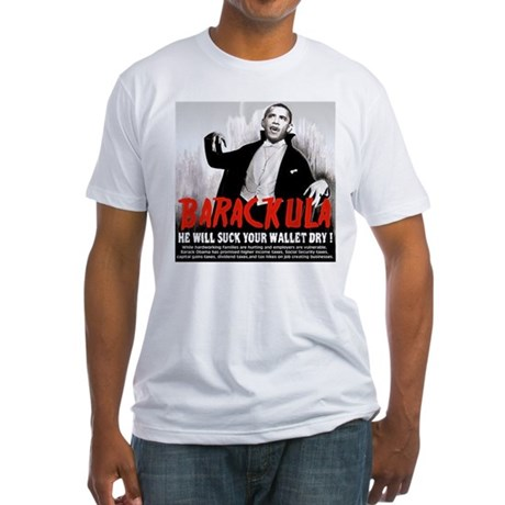 anti obama humor Fitted T-Shirt