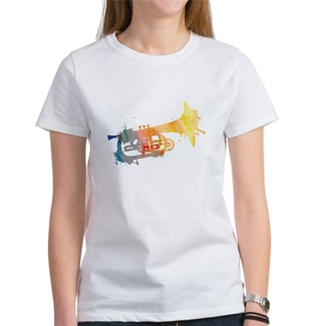 Paint Splat Mellophone Women's T-Shirt