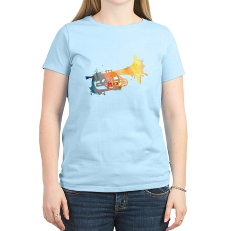 Paint Splat Mellophone Women's Light T-Shirt