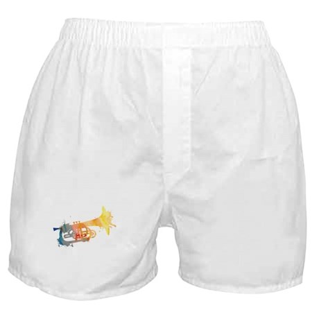 Paint Splat Mellophone Boxer Shorts