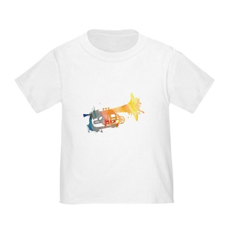 Paint Splat Mellophone Toddler T-Shirt