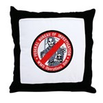 FBI WMD Unit Throw Pillow