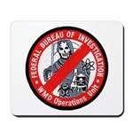 FBI WMD Unit Mousepad