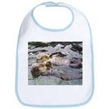 Sea Otter Love Bib