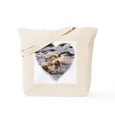 Sea Otter Love Tote Bag