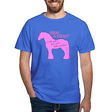 Ride a Draft! Horse T-Shirt