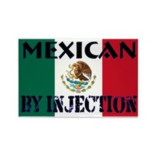Mexican by Injection Rectangle Magnet
