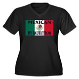 Mexican by Injection Women's Plus Size V-Neck Dark