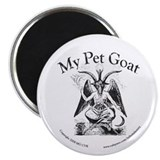 "MY PET GOAT 2.25"" Magnet (10 pack)"