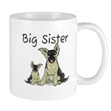 Dogs GS Big Sister Small Mug