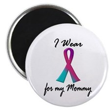 Thyroid Ribbon 1 (Mommy) Magnet
