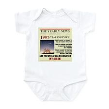 born in 1997 birthday gift Onesie