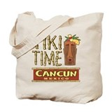 Cancun Tiki Time - Tote Bag