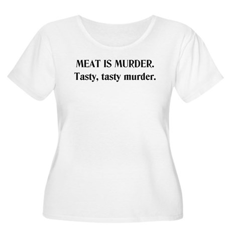 Murder Women's Plus Size Scoop Neck T-Shirt