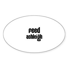 Feed Ashleigh Oval Decal