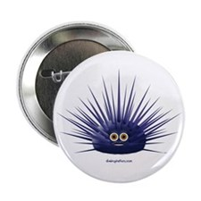 Purple Sea Urchin Button