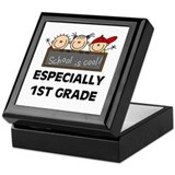 1st Grade is Cool Keepsake Box