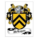 McLannahan Family Crest Small Poster