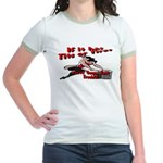 Tits Or Tires Jr. Ringer T-Shirt