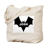 BLACK BAT JOSH Tote Bag