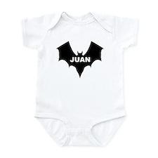 BLACK BAT JUAN Infant Creeper
