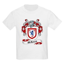 McLeish Family Crest Kids T-Shirt