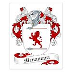 Mcnamara Family Crest Small Poster