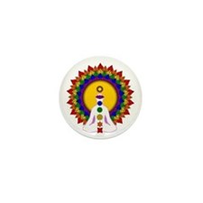 Spiritually Enlightened Mini Button