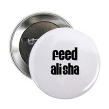 "Feed Alisha 2.25"" Button (100 pack)"