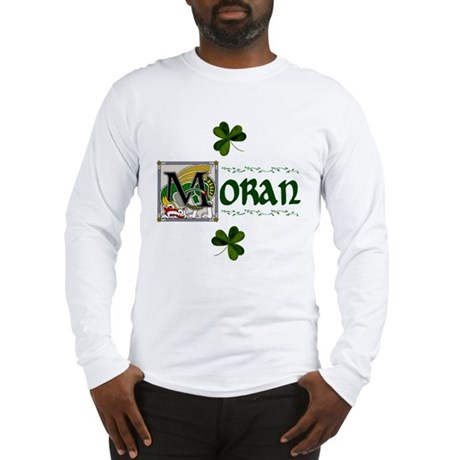 Moran Celtic Dragon Long Sleeve T-Shirt