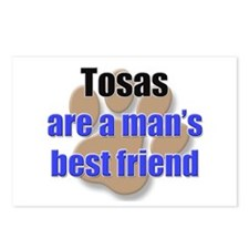 Tosas man's best friend Postcards (Package of 8)