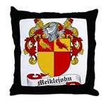 Meiklejohn Family Crest Throw Pillow