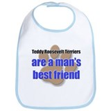 Teddy Roosevelt Terriers man's best friend Bib