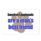 Swedish Lapphunds man's best friend Postcards (Pac