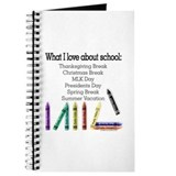 Things I Love About School! Journal
