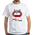 Melville Family Crest White T-Shirt